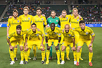 CARSON, CA - March 2, 2013: Columbus Crew Starting Lineup for the Chivas USA vs Columbus Crew match at the Home Depot Center in Carson, California. Final score, Chivas USA 0, Columbus Crew 3.