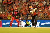 8th January 2018, The WACA, Perth, Australia; Australian Big Bash Cricket, Perth Scorchers versus Melbourne Renegades; Ashton Turner of the Perth Scorchers plays a cover drive during his innings