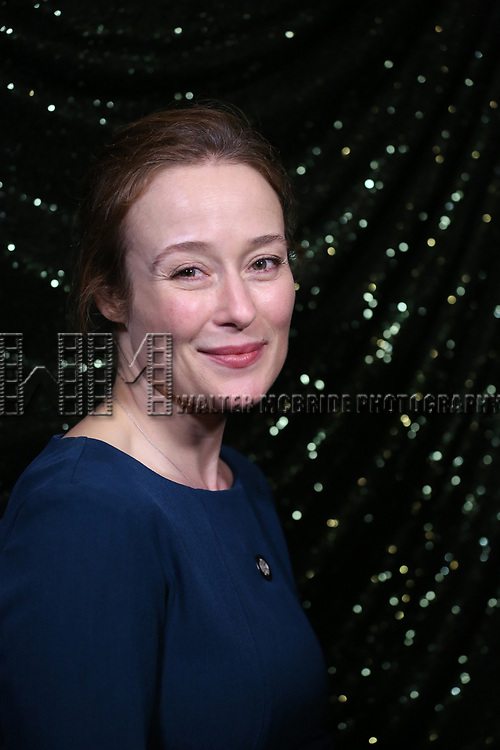Jennifer Ehle attends the 2017 Tony Awards Meet The Nominees Press Junket at the Sofitel Hotel on May 3, 2017 in New York City.