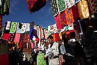 BULGARIA, Ribnovo, January 24, 2010. Bulgarian muslim bride and groom attend their wedding ceremony in the remote village of Ribnovo, in the Rhodope moutain region, south of Bulgaria. Bulgarian Muslims, which today are nearly 8% of the country's population and the largest muslim minority community in the European Union, revived their cultural and religious traditions after the fall of communist regime in Bulgaria in 1989. .BULGARIE, Ribnovo, 24 Janvier 2010. Un jeune couple de maries Bulgares de confession musulmane paradent a leur cérémonie de mariage dans le petit village de Ribnovo dans les montagnes des Rhodopes en Bulgarie. La minorité musulmane qui représente aujourd'hui près de 8% de la population totale du pays et qui est la plus large majorité musulmane dans les pays de l'Union Européenne a ravive ses traditions culturelles et religieuse après la chute du régime communiste Bulgare en 1989.