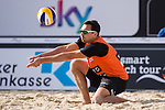 10.05.2015, Muenster, Schlossplatz<br /> smart beach tour, Supercup MŸnster / Muenster, Hauptfeld<br /> <br /> Annahme Jonathan Erdmann<br /> <br />   Foto &copy; nordphoto / Kurth