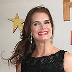 Brooke Shields .attending the Broadway Opening Night Performance of 'Peter And The Starcatcher' at the Brooks Atkinson Theatre on 4/15/2012 in New York City.