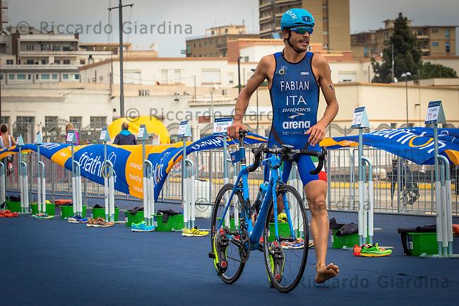 08/05/2016 - Elite Men race, 2016 Cagliari ITU Triathlon World Cup -