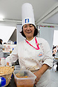 Mariko Nakagawa one of the gelato artisans chefs poses for a picture during the Gelato World Tour on September 5, 2015, Tokyo, Japan. Over 3 days visitors to the Tokyo event can taste 16 flavours of gelato and will chose the top three flavours to represent the Far East Asia region at the Grand Finale of Gelato World Tour 2.0 to be held in Rimini, Italy in 2017. (Photo by Rodrigo Reyes Marin/AFLO)