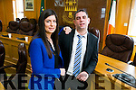 Cllr Maura Healy-Rae have been officially co-opted onto the local authority at a sitting of Kerry County Council on Monday. Pictured with brother Cllr Johnny Healy