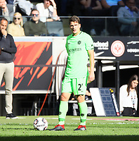 Pirmin Schwegler (Hannover 96) - 30.09.2018: Eintracht Frankfurt vs. Hannover 96, Commerzbank Arena, DISCLAIMER: DFL regulations prohibit any use of photographs as image sequences and/or quasi-video.