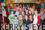 21 Wishes<br /> ------------<br /> Shane Daly,Caheranne Village,Tralee(seated centre)had a cracking time celebrating his 21st birthday last Saturday night in the Munster bar,Tralee along with many friends and family.