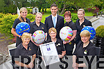 Restaurant Team from Ballygarry House Hotel and Spa, who won ?Restaurant Association of Ireland Best Customer Service Award in Munster?. Front:L-R: Sheila Hannafin, Margaret Enright, Kathleen Doyle. Back:L-R: Michelle Moriarty, Orla Culloty, Tadgh McGillacuddy, Tanya O'Connor and Breda McCarthy.
