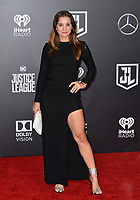 Barbara Lombardo at the world premiere for &quot;Justice League&quot; at The Dolby Theatre, Hollywood. Los Angeles, USA 13 November  2017<br /> Picture: Paul Smith/Featureflash/SilverHub 0208 004 5359 sales@silverhubmedia.com