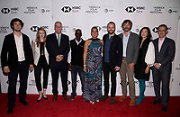 "NEW YORK CITY - APRIL 22: (L-R) Sven Falconer, Kaya Ensor, Gary E. Knell , Tumeletso ""Water"" Setlabosha, Adjani Costa, Neil Gelinas , Steve Boyes,  Clara Wu Tsai and Geoff Daniels attend National Geographic's ""Into The Okavango"" Screening at Tribeca Film Festival at Tribeca Festival Hub on April 22, 2018 in New York City. (Photo by Anthony Behar/National Geographic/PictureGroup)"