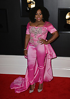 LOS ANGELES, CA - FEBRUARY 10: Etana at the 61st Annual Grammy Awards at the Staples Center in Los Angeles, California on February 10, 2019. Credit: Faye Sadou/MediaPunch
