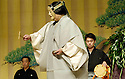 Noh with Kanze Tetsunojo. Opens at The Hub at the Edinburgh International Festival 2005. CREDIT Geraint Lewis