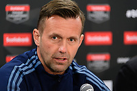 HARRISON, NJ - FEBRUARY 26: head coach Domenec Torrent of NYCFC during a game between AD San Carlos and NYCFC at Red Bull on February 26, 2020 in Harrison, New Jersey.