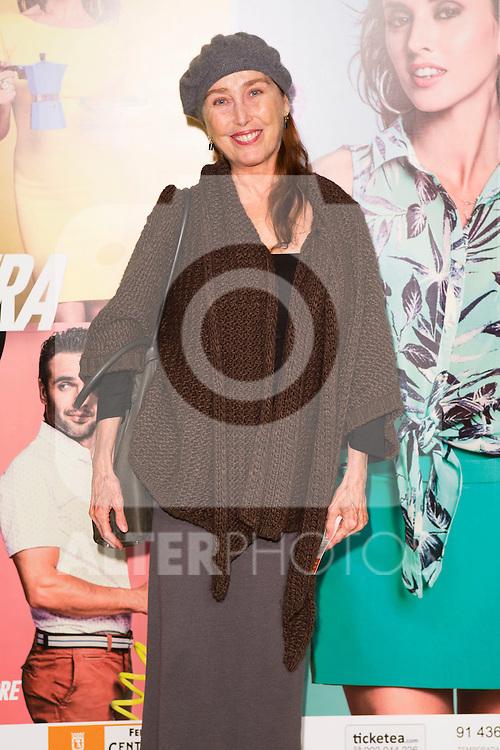 "Veronica Forque attends the Premiere of the Theater Play ""Al Final de la carretera"" at Fenan Gomez Theatre in Madrid, Spain. October 7, 2014. (ALTERPHOTOS/Carlos Dafonte)"