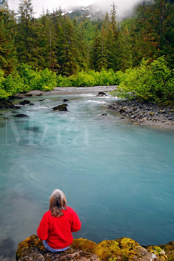 Power Creek, Cordova, Chugach National Forest, Alaska.