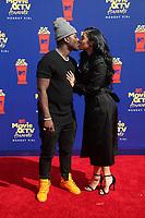 SANTA MONICA, CA - JUNE15: Ray J, Princess Love, at the 2019 MTV Movie & TV Awards sponsored by M&M's, MTN DEW, Taco Bell®, and truth at Barker Hangar in Santa Monica, California on June 15, 2019. Credit: Faye Sadou/MediaPunch