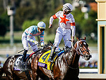 November 2, 2019: Mitole, ridden by Ricardo Santana Jr., wins the Breeders' Cup Sprint on Breeders' Cup World Championship Saturday at Santa Anita Park on November 2, 2019: in Arcadia, California. Kaz Ishida/Eclipse Sportswire/CSM