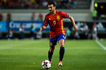 Pedro Rodriguez of Spain during the friendly match between Spain and Colombia at Nueva Condomina Stadium in Murcia, jun 07, 2017. Spain. (ALTERPHOTOS/Rodrigo Jimenez)