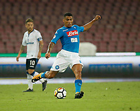 Miguel Allan  during the  italian serie a soccer match,between SSC Napoli and Atalanta      at  the San  Paolo   stadium in Naples  Italy , August 27, 2017