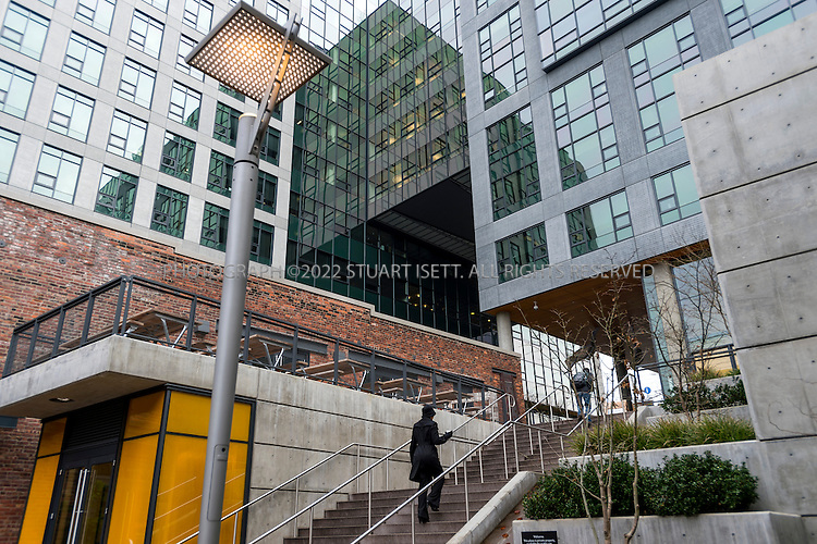 1/22/2013--SEATTLE, WA, USA..The Kelly-Goodwin Building (left), a designated landmark, in South Lake Union with new Amazon properties behind...©2012 Stuart Isett. All rights reserved.
