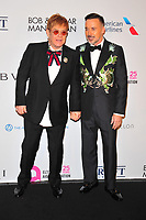 NEW YOKR, NY - NOVEMBER 7: Elton John and David Furnish at The Elton John AIDS Foundation's Annual Fall Gala at the Cathedral of St. John the Divine on November 7, 2017 in New York City. Credit:John Palmer/MediaPunch /NortePhoto.com