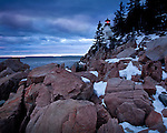 Bass Harbor Head Light in Acadia National Park, Downeast, ME, USA