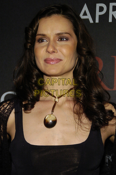 "FLORENCIA LOZANO .Columbia Pictures and Revolution Studios premiere of ""Perfect Stranger"" at Ziegfield Theater, New York, New York, USA..April 10th, 2007.headshot portrait necklace stone brown .CAP/ADM/BL.©Bill Lyons/AdMedia/Capital Pictures *** Local Caption ***"