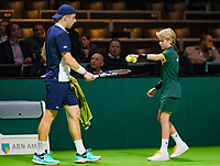 Rotterdam, The Netherlands, 12 Februari 2019, ABNAMRO World Tennis Tournament, Ahoy,  Tallon Griekspoor (NED)<br /> Photo: www.tennisimages.com/Henk Koster