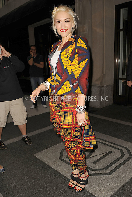 WWW.ACEPIXS.COM . . . . . .September 16, 2010, New York City....Gwen StefanI on her way to L.A.M.B Fashion Show on September 16, 2010 in New York City....Please byline: KRISTIN CALLAHAN - ACEPIXS.COM.. . . . . . ..Ace Pictures, Inc: ..tel: (212) 243 8787 or (646) 769 0430..e-mail: info@acepixs.com..web: http://www.acepixs.com .