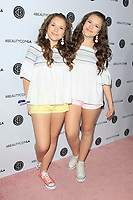 LOS ANGELES - AUG 12: Chiara D'Ambrosio, Bianca D'Ambrosio at the 5th Annual BeautyCon Festival Los Angeles at the Convention Center on August 12, 2017 in Los Angeles, California