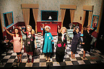 Curtain Call with cast left to right - Ursula Anderman, Maia Guest, Julie Heckert, Sally Mayes, Liz Keifer, Jenn Lee Andrews - Dress rehearsal on November 28, 2017 of Steel Magnolias performed at the Phillipstown Depot Theatre, Garrison, New York. (Photo by Sue Coflin/Max Photo)