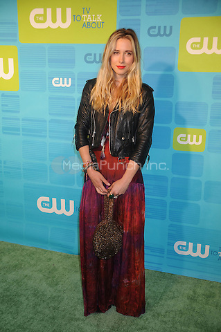 Gillian Zinser at the 2010 CW Upfront Green Carpet Arrivals at Madison Square Garden in New York City. May 20, 2010.Credit: Dennis Van Tine/MediaPunch