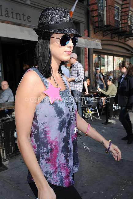 WWW.ACEPIXS.COM . . . . . ....April 14 2010, New York City....Singer Katy Perry went shopping around Manhattan on April 14 2010 in New York City....Please byline: KRISTIN CALLAHAN - ACEPIXS.COM.. . . . . . ..Ace Pictures, Inc:  ..(212) 243-8787 or (646) 679 0430..e-mail: picturedesk@acepixs.com..web: http://www.acepixs.com