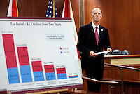 Gov. Scott Budget Announcement 2-7-11