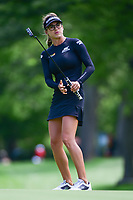 Belen Mozo (ESP) reacts to barely missing her putt on 16 during Thursday's round 1 of the 2017 KPMG Women's PGA Championship, at Olympia Fields Country Club, Olympia Fields, Illinois. 6/29/2017.<br /> Picture: Golffile | Ken Murray<br /> <br /> <br /> All photo usage must carry mandatory copyright credit (&copy; Golffile | Ken Murray)