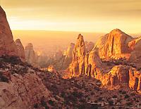 Sunset in Behind-the-Rocks, Behind-the-Rocks Wilderness Study Area, Utah