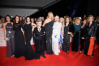 Loose Women<br /> arriving for the National Television Awards 2018 at the O2 Arena, Greenwich, London<br /> <br /> <br /> ©Ash Knotek  D3371  23/01/2018