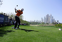 Marcel Siem (GER) tees off on the 8th tee during Sunday's Final Round of the 2012 Omega Dubai Desert Classic at Emirates Golf Club Majlis Course, Dubai, United Arab Emirates, 12th February 2012(Photo Eoin Clarke/www.golffile.ie)