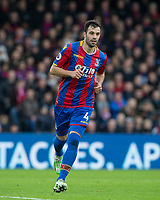 Luka Milivojevic of Crystal Palace during the Premier League match between Crystal Palace and Manchester City at Selhurst Park, London, England on 31 December 2017. Photo by Andy Rowland.