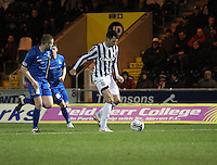 Steven Thompson in the St Mirren v Inverness Caledonian Thistle Clydesdale Bank Scottish Premier League match played at St Mirren Park, Paisley on 30.1.13.
