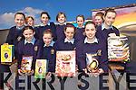 EGGS: Raffling Easter Eggs at Scoil Phobail Sliabh Luachra in Rathmore on Thursday last were, front l-r: Sheila O'Sullivan, Shauna O'Riordan, Ciara O'Doherty, Caroline Dineen, Brid O'Leary, Catriona O'Sullivan. Back l-r: Niamh Brosnan, Cliona Rahilly, Maura O'Connell, Mairead Fleming, Helena Murphy.