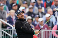 Shane Lowry (IRL) on the 17th tee during the 3rd round of the US Open Championship, Pebel Beach Golf Links, Monterrey, Calafornia, USA. 15/06/2019.<br /> Picture Fran Caffrey / Golffile.ie<br /> <br /> All photo usage must carry mandatory copyright credit (© Golffile | Fran Caffrey)