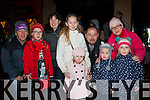 Is he here yet<br /> -----------------<br /> All waiting in the Square,Killorglin last Sunday evening for Santa to show were L-R Tim,Cathal,Shauna&amp;Kate Moroney,Kayla&amp;Shane McElroy with Eva,Julia&amp;Anna Kurdziel from Cromane&amp;Killorglin.