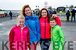 Kirsten Brosnan, Tracey Savage Sinead Garry and Daniel Kirby, Limerick, pictured at Listowel Races on Sunday last.