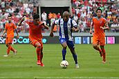 01.08.2015. Cologne, Germany. Pre Season Tournament. Colonia Cup. Valencia CF versus FC Porto.  Brahimi on the attack for Porto.