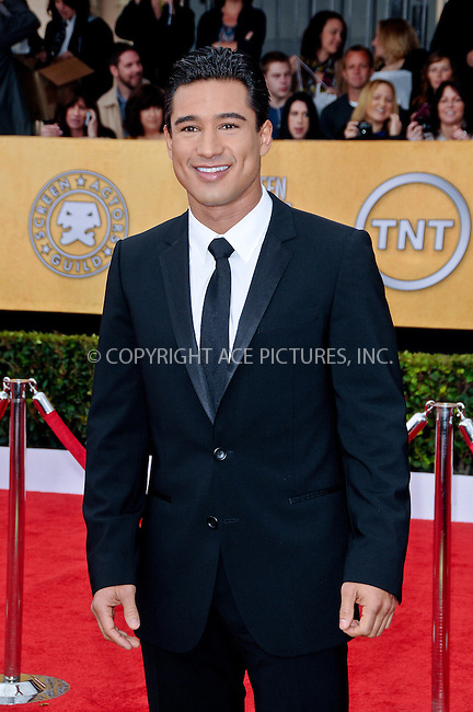 WWW.ACEPIXS.COM . . . . . ....January 30 2011, Los Angeles....Mario Lopez arriving at the 17th Annual Screen Actors Guild Awards held at The Shrine Auditorium on January 30, 2011 in Los Angeles, CA....Please byline: PETER WEST - ACEPIXS.COM....Ace Pictures, Inc:  ..(212) 243-8787 or (646) 679 0430..e-mail: picturedesk@acepixs.com..web: http://www.acepixs.com