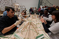 57th Art Biennale in Venice - Viva Arte Viva. Giardini.<br /> International Pavillion.<br /> Olafur Eliasson, Green light. An artistic workshop