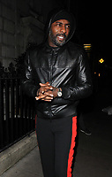 Idris Elba at the LFW (Men's) a/w2018 GQ Dinner, Berners Tavern, The London Edition Hotel, Berners Street, London, England, UK, on Monday 08 January 2018.<br /> CAP/CAN<br /> &copy;CAN/Capital Pictures