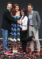UNIVERSAL CITY, CA - AUGUST 02: Sean Hayes, Debra Messing, Megan Mullally, Eric McCormack, At 'Will & Grace' Start Of Production Kick Off Event And Ribbon Cutting Ceremony At Universal City Plaza  In California on August 02, 2017. Credit: FS/MediaPunch