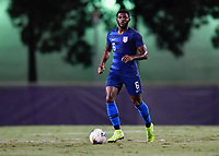 Miami, FL - Tuesday, October 15, 2019:  Mark McKenzie #6 during a friendly match between the USMNT U-23 and El Salvador at FIU Soccer Stadium.